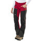 Lundhags Antjah Pantaloni lunghi Donna rosso/nero